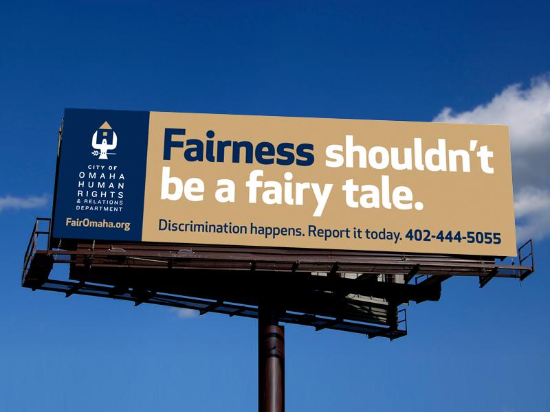 human rights digital billboard