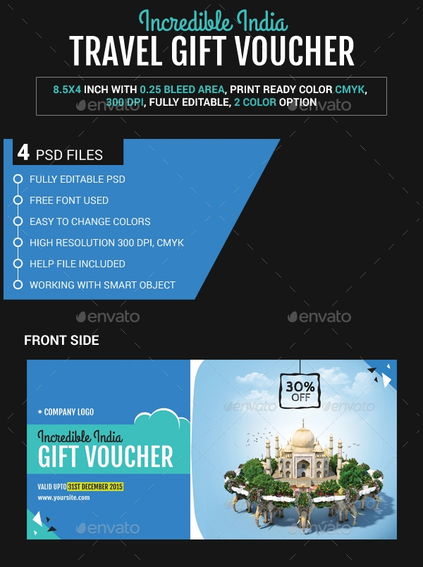 incredible travel gift voucher