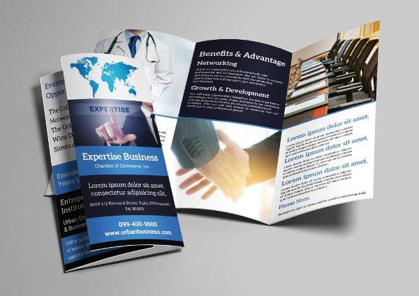 insurance agency tri fold brochure