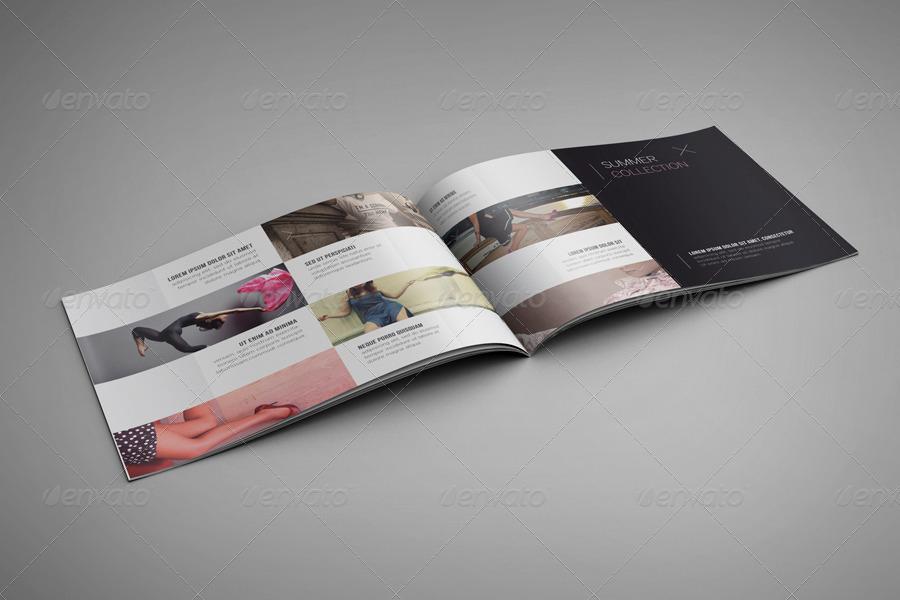 landscape brochure mockup design