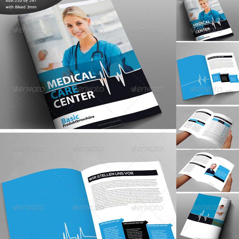 medical care center sample brochure