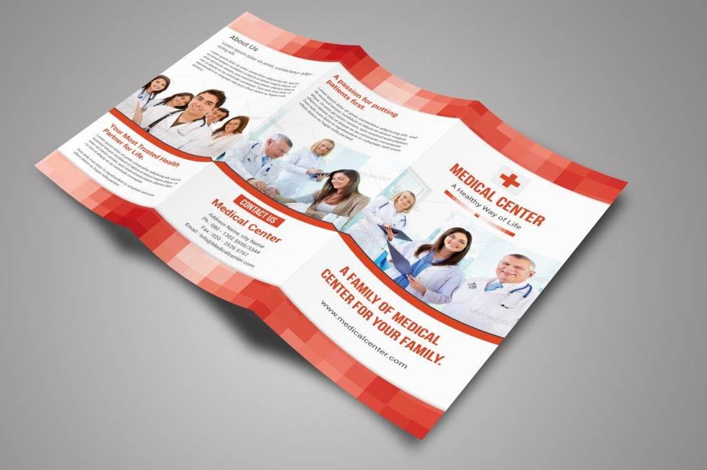 medical center sample brochure