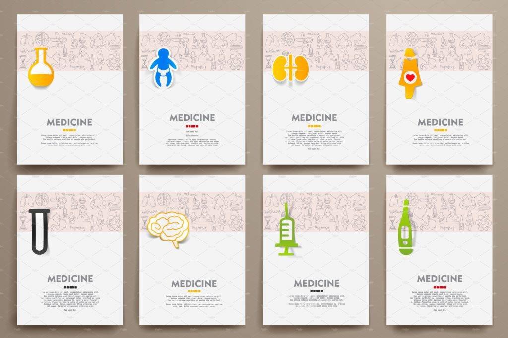 medicine sample brochure