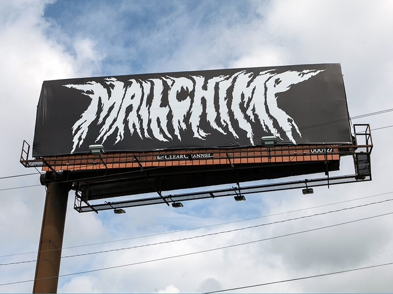 metal billboard design example