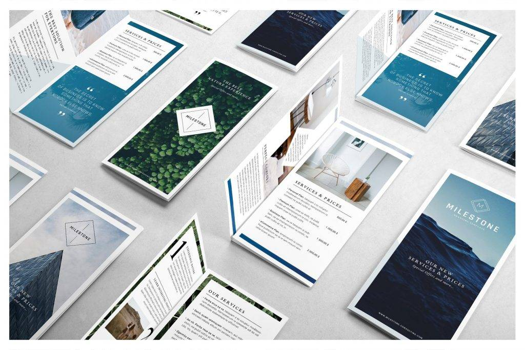16+ Business Trifold Brochure Designs and Examples - PSD, AI