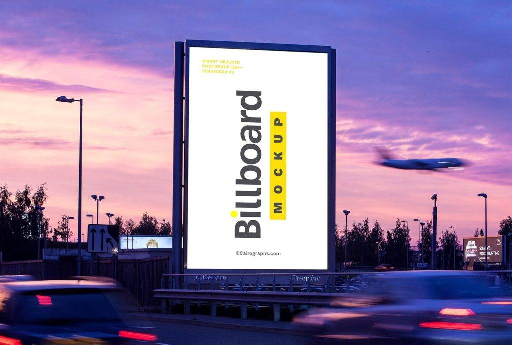 modern billboards mock ups