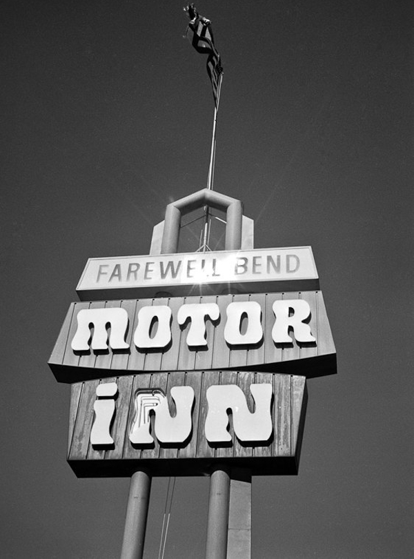 Motor Inn Travel Photography billboard Art