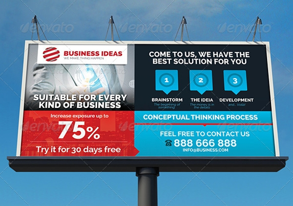 multipurpose corporate business signage billboard