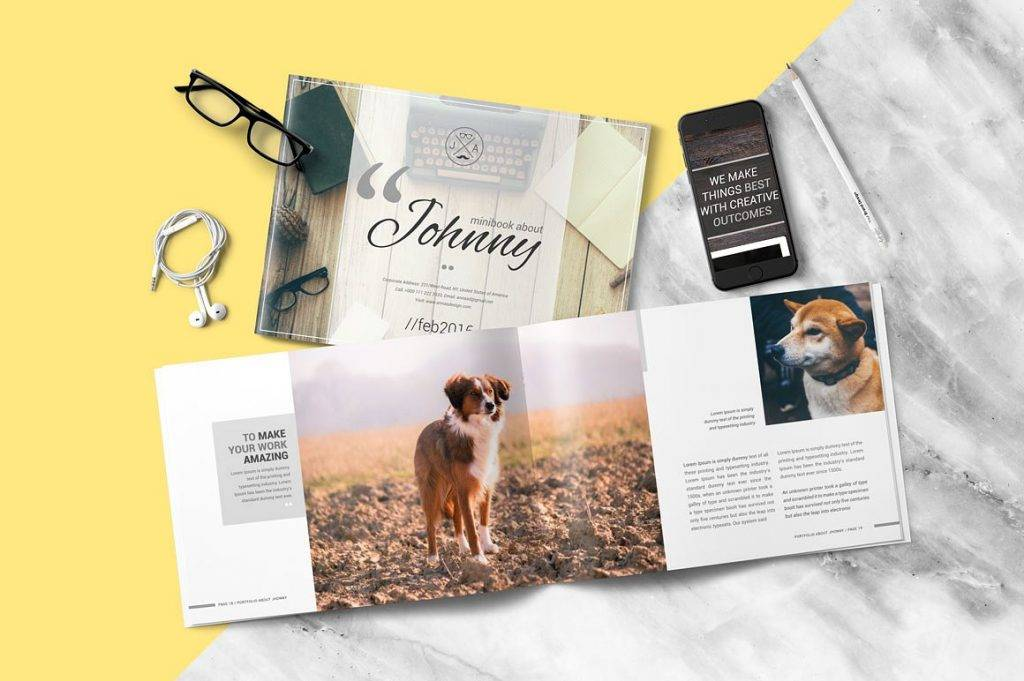 multipurpose dog show brochure example