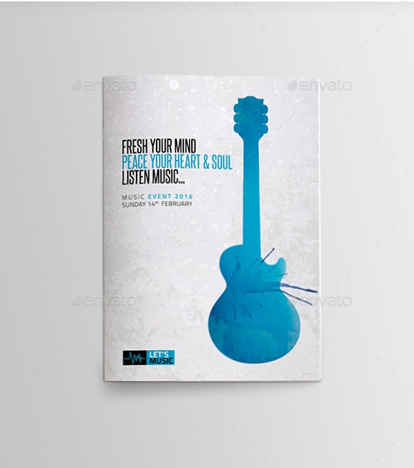 music festival brochure example