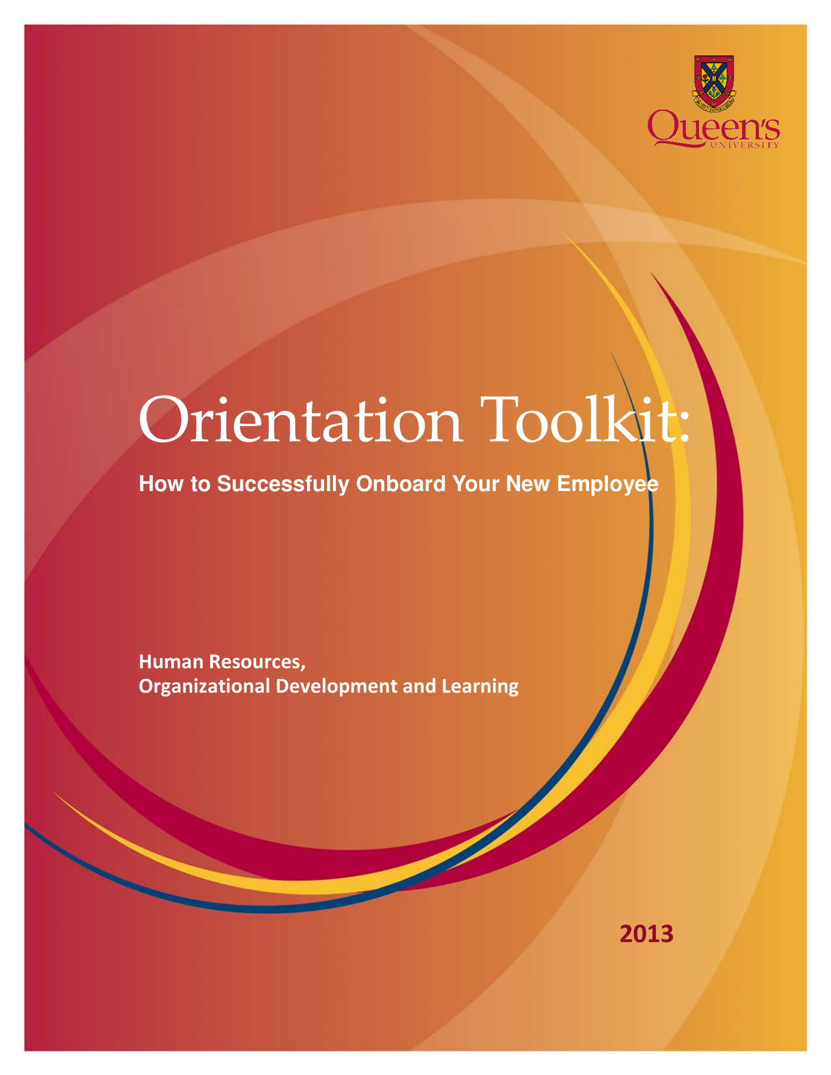 new employee orientation program checklist and toolkit