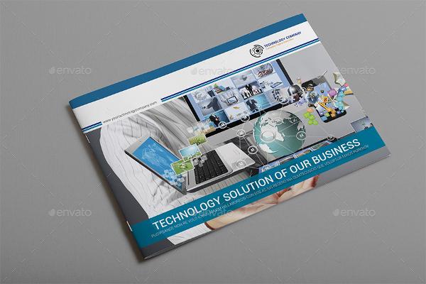new technology brochure catalog templates