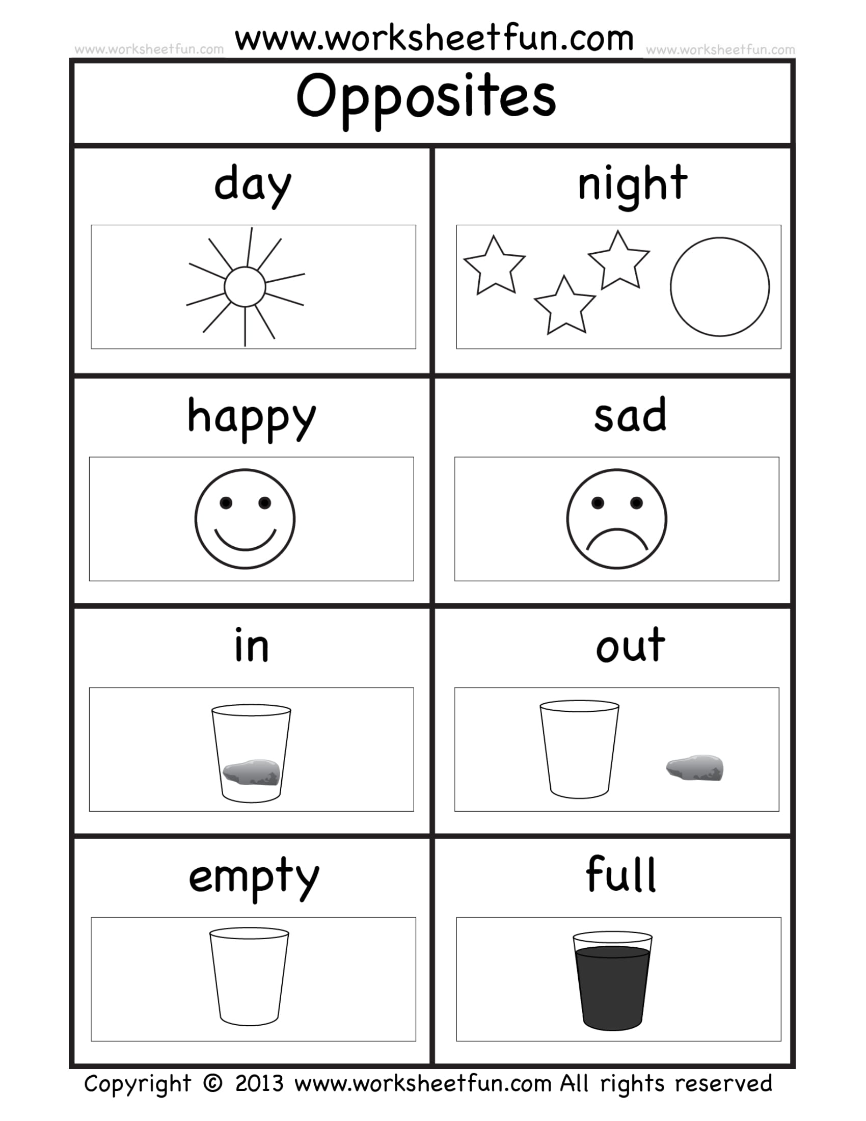Worksheets Kindergarten Worksheets Pdf 8 kindergarten worksheet examples pdf opposites exercise sample worksheet