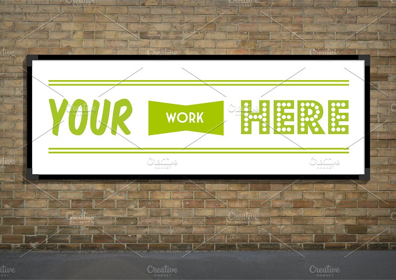 outdoor advertising billboard design example