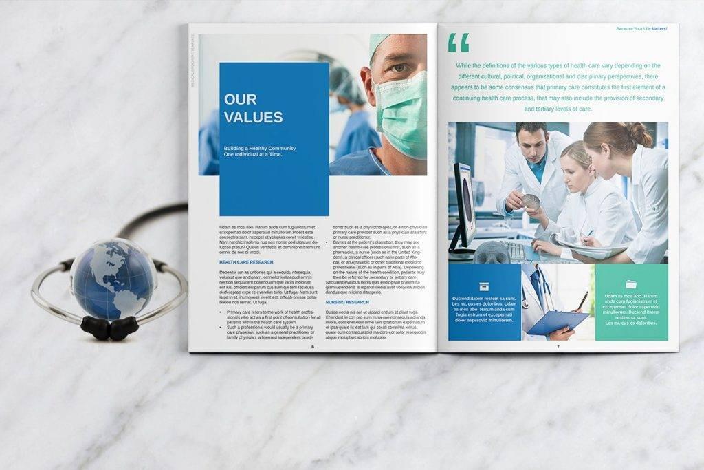 pharmacy services sample brochure