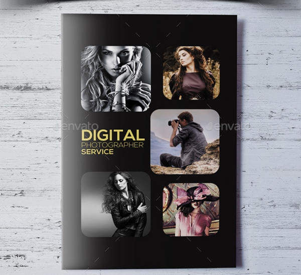 photography services bifold brochure