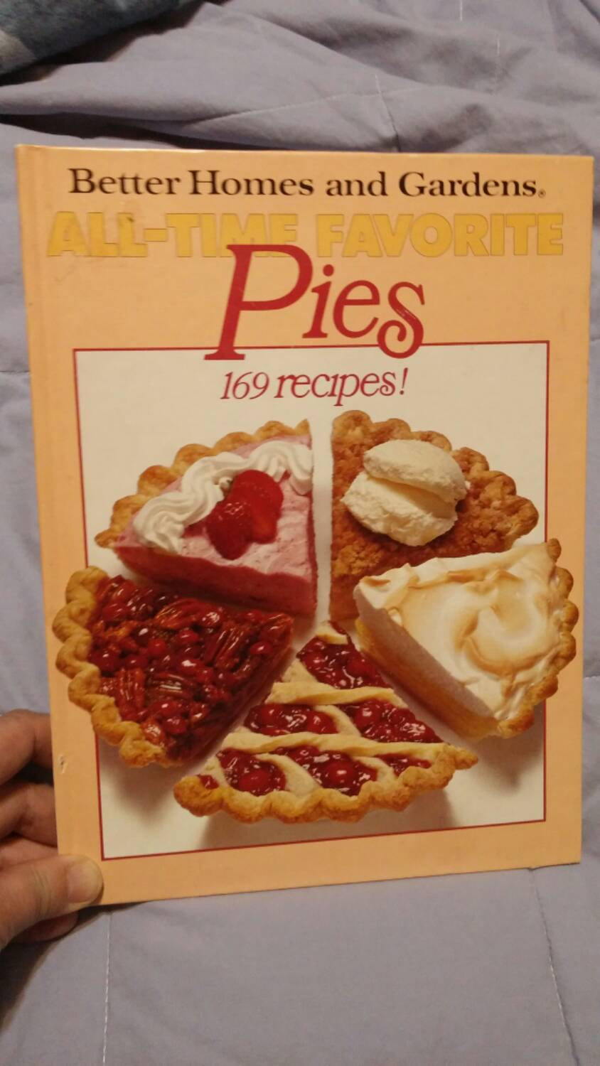 pie cookbook design example