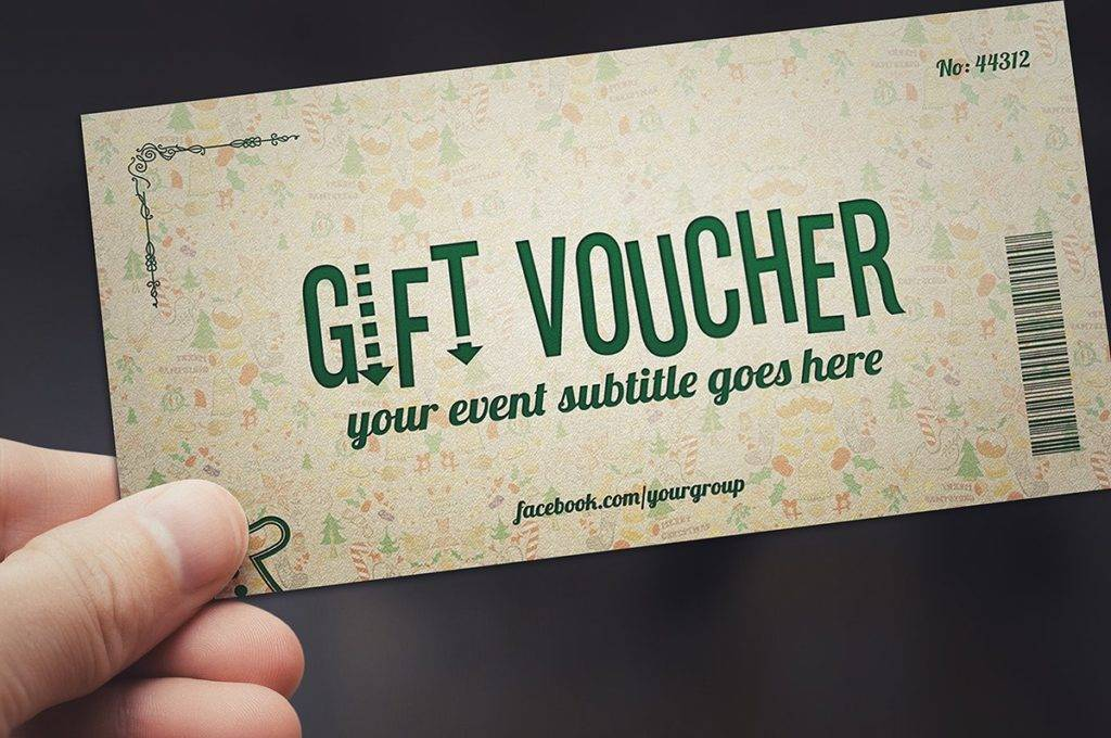 printable christmas voucher example