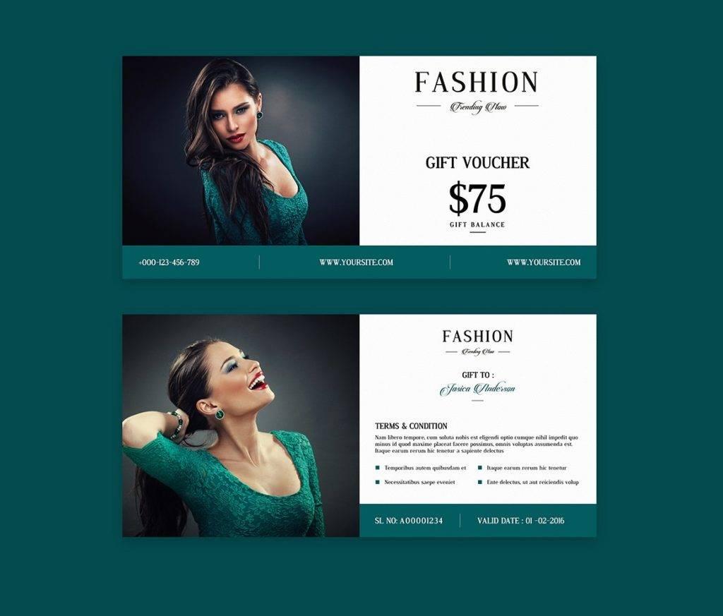 printable fashion voucher example