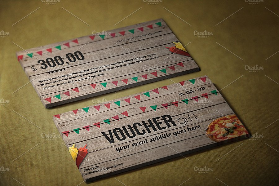 printable fast food gift voucher example