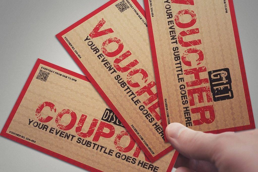 printable vintage voucher example