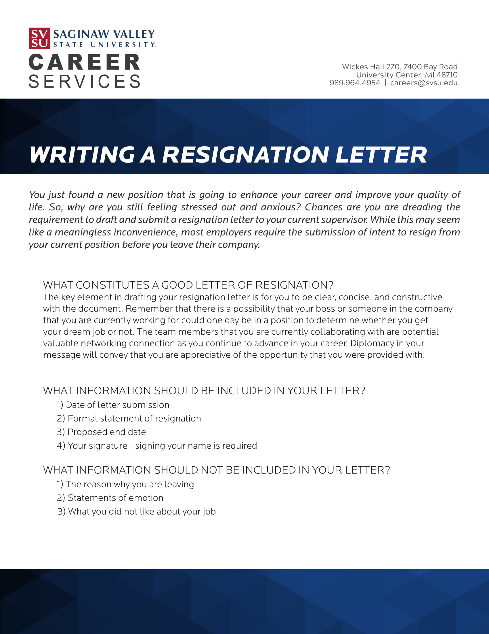 Employee Resignation Letter Examples  Pdf Word