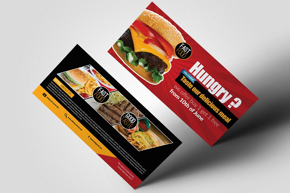 restaurant meal voucher example