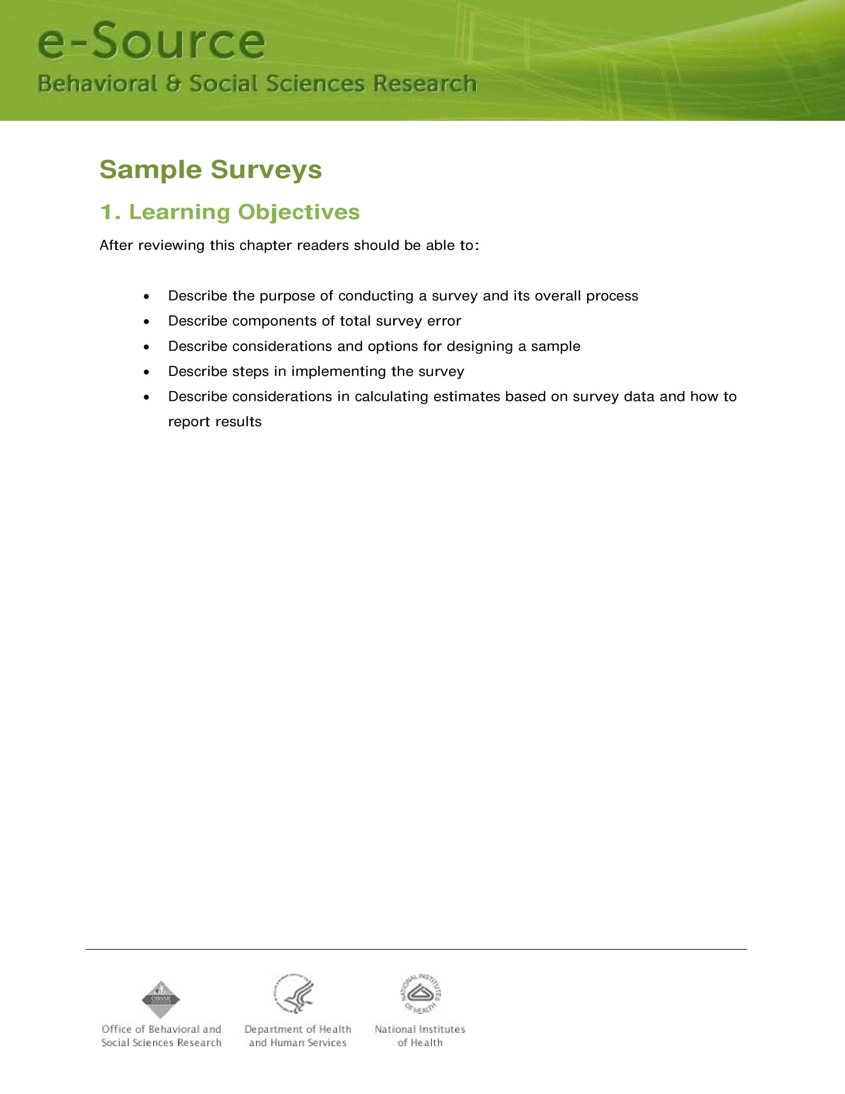 sample surveys 01