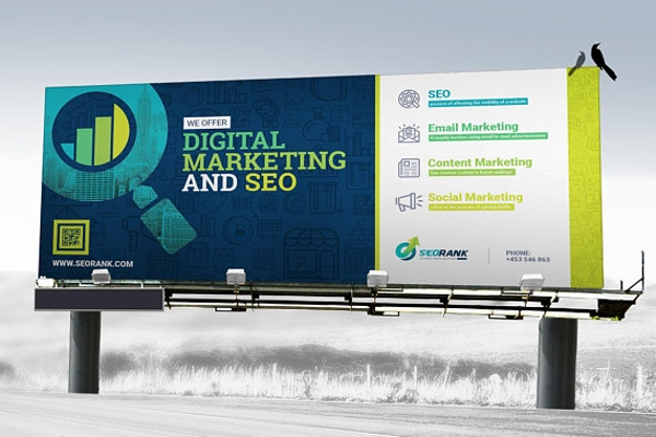 signage search engine optimization and digital marketing agency billboard