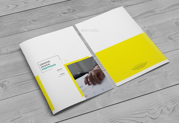simple a4 brochure