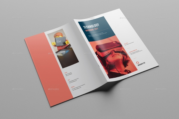 simple technology brochure