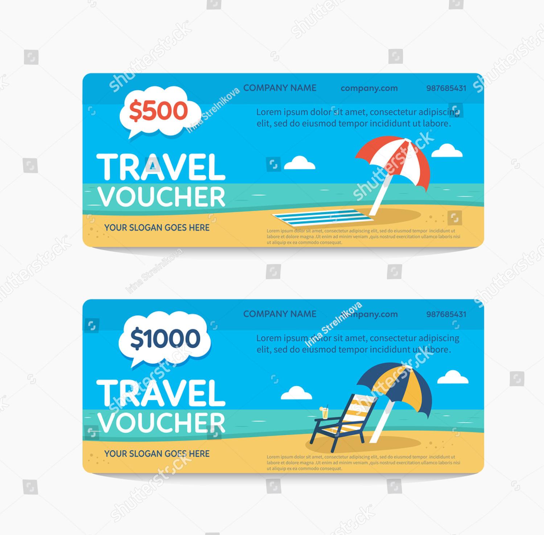 simple travel voucher