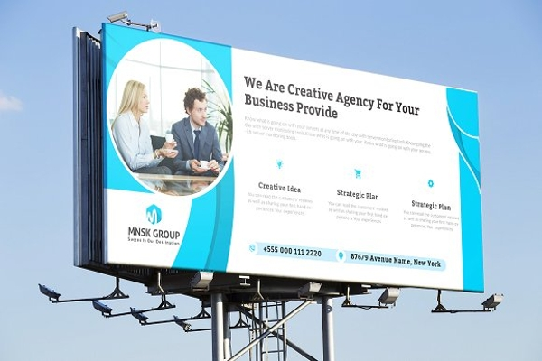 simple and creative billboard example