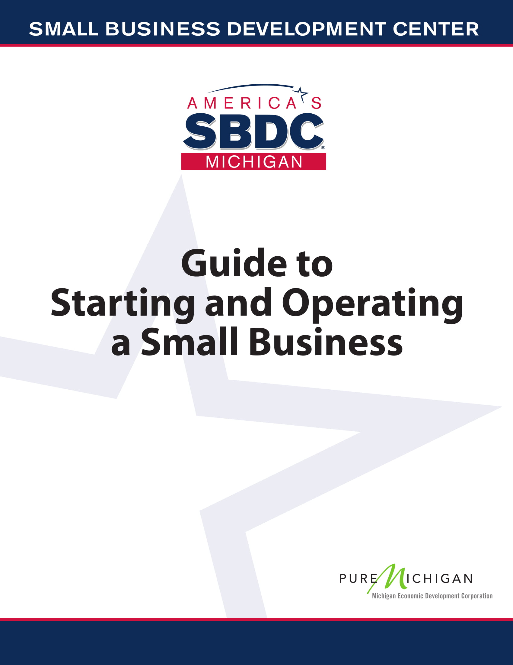 starting and operating a small business guide and checklist