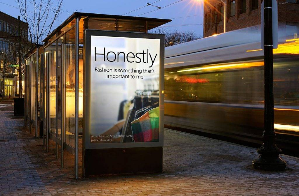 street billboard design example