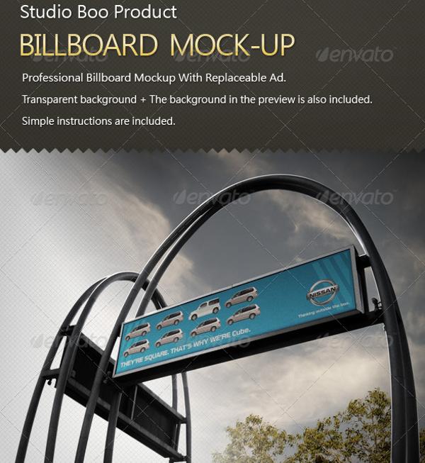 studio boo product simple billboard mock up example