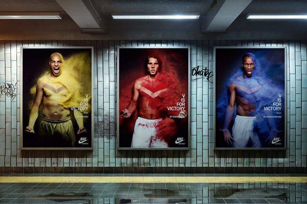 subway poster billboard example