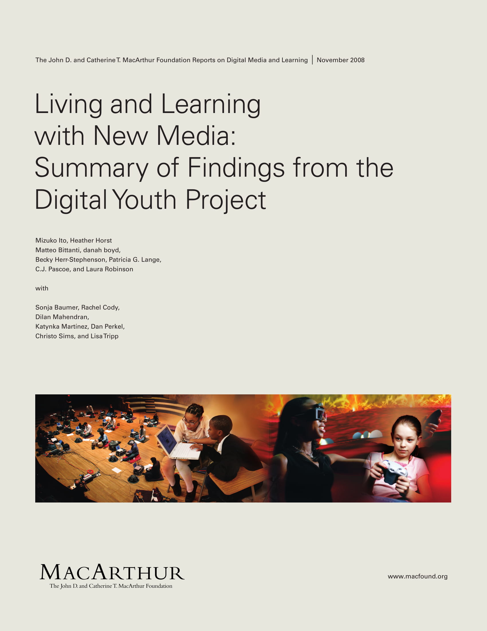 summary of findings from the digital your project