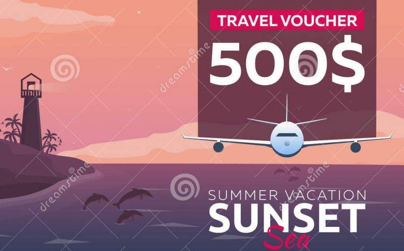 summer travel voucher example