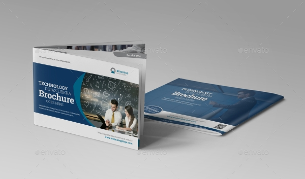 technology brochure catalog template1