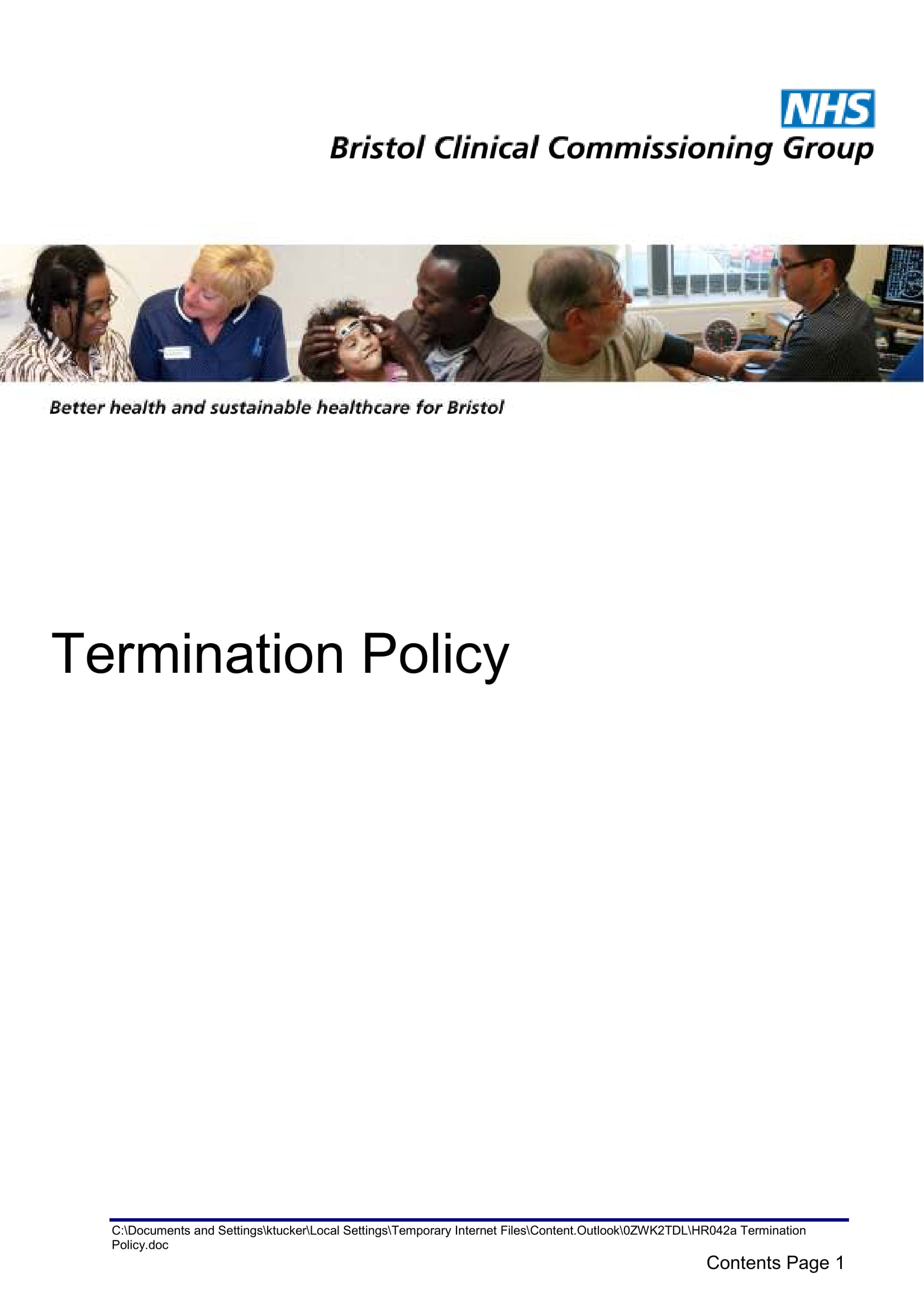 termination policy