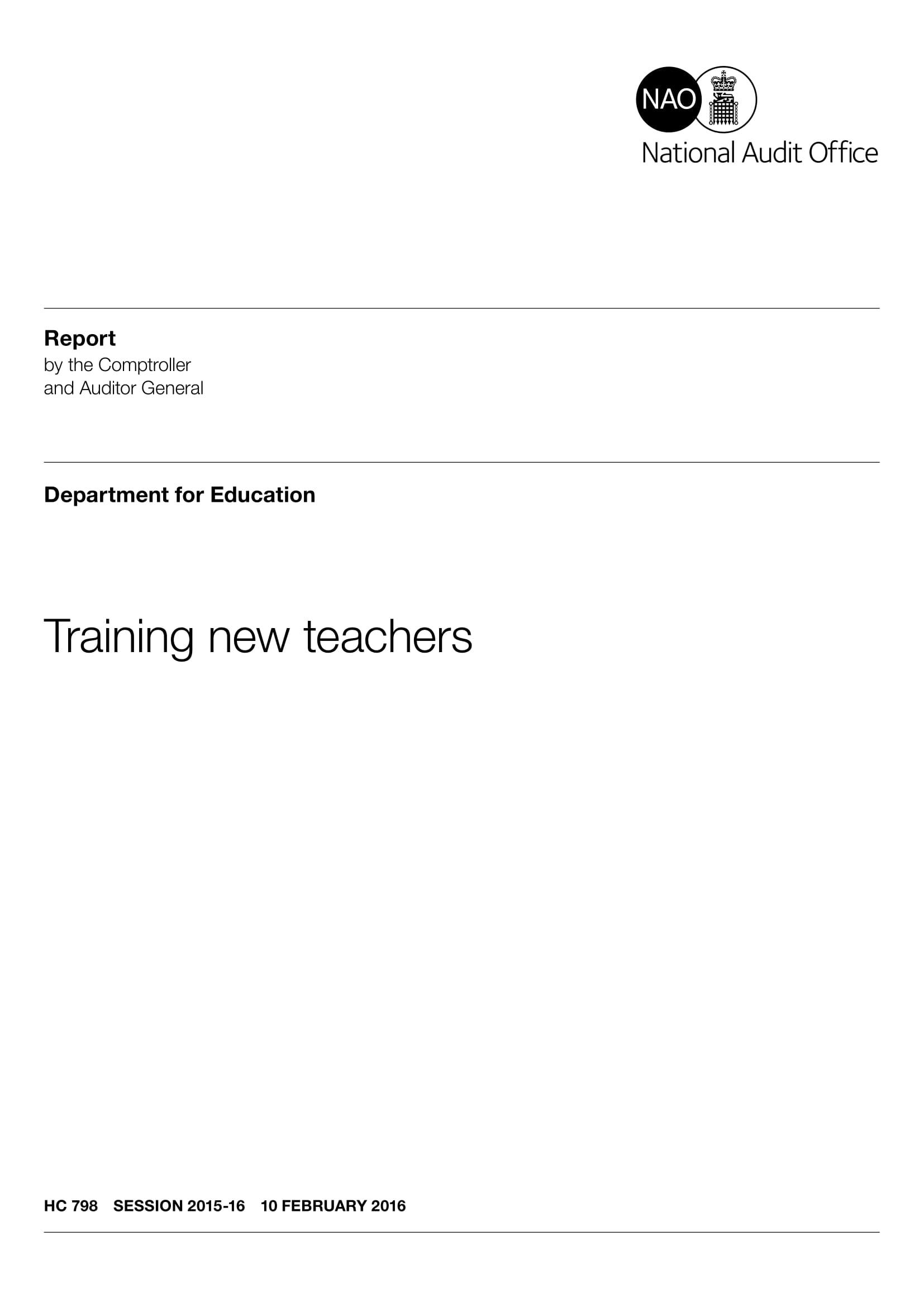 training summary for new teachers