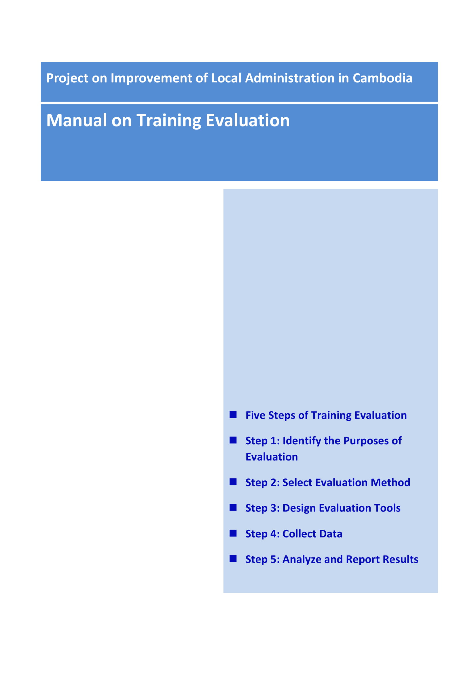 trainingevaluation manual 01