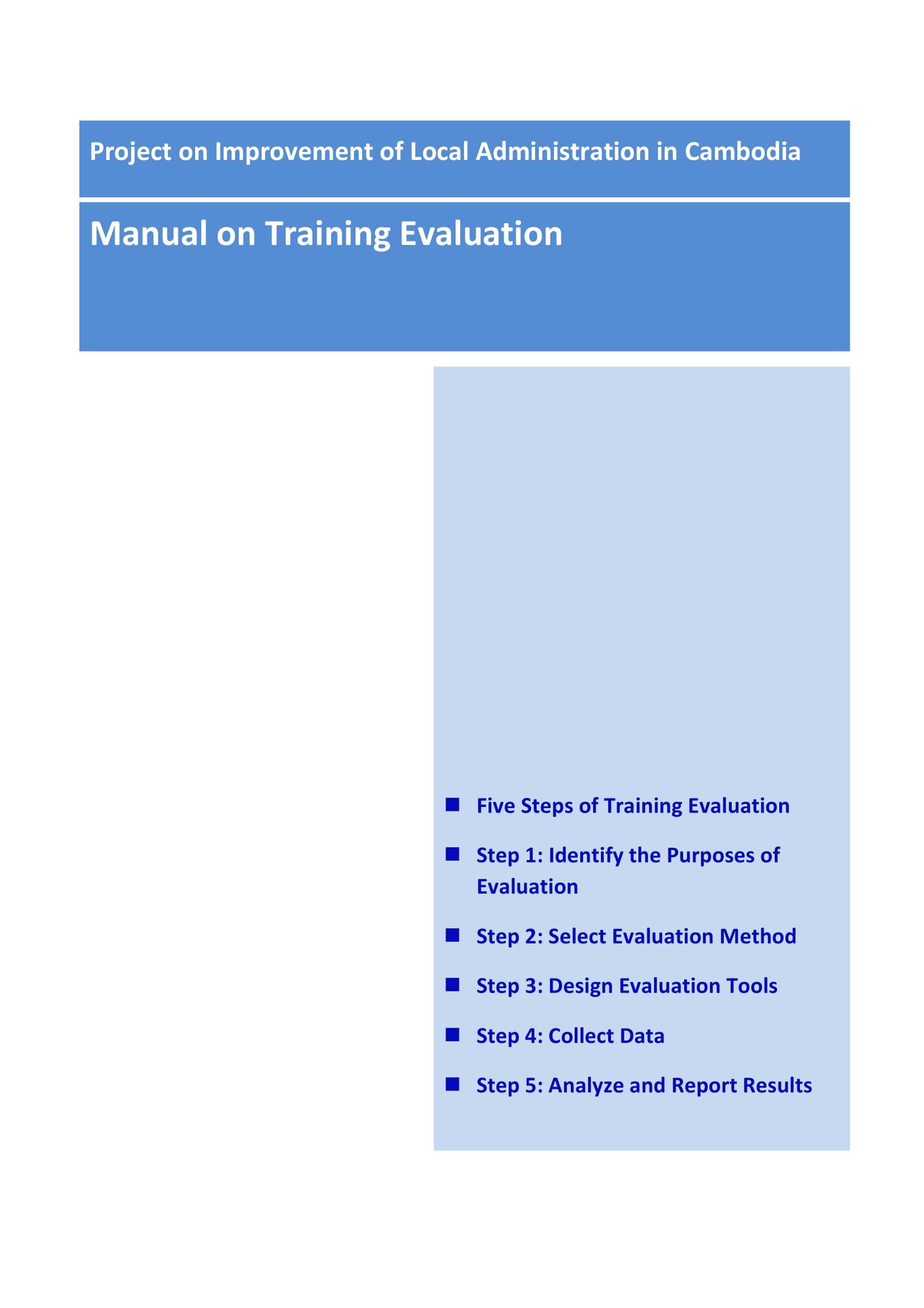 trainingevaluation manual 01