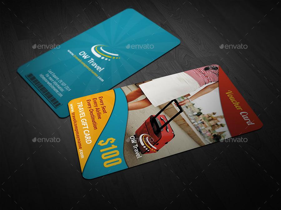 travel voucher card