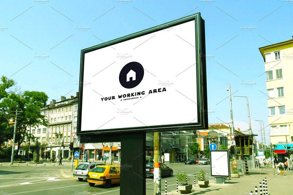 urban outdoor billboard example