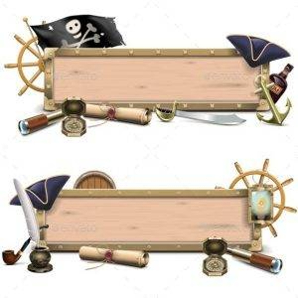vector pirate billboards