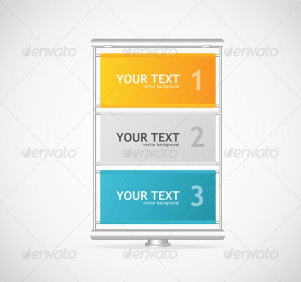 vector vertical billboard