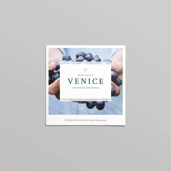 venice brochure template
