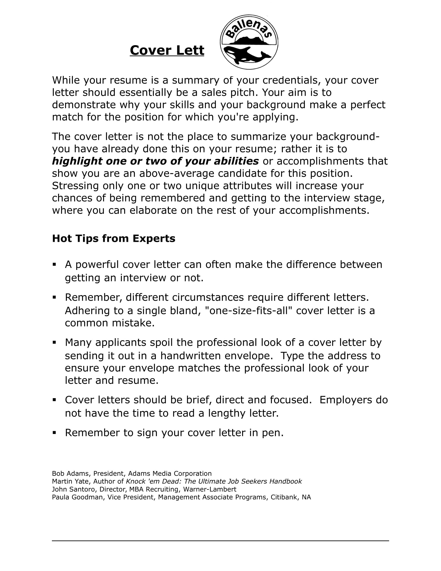 19+ Job Application Letter Examples - Word